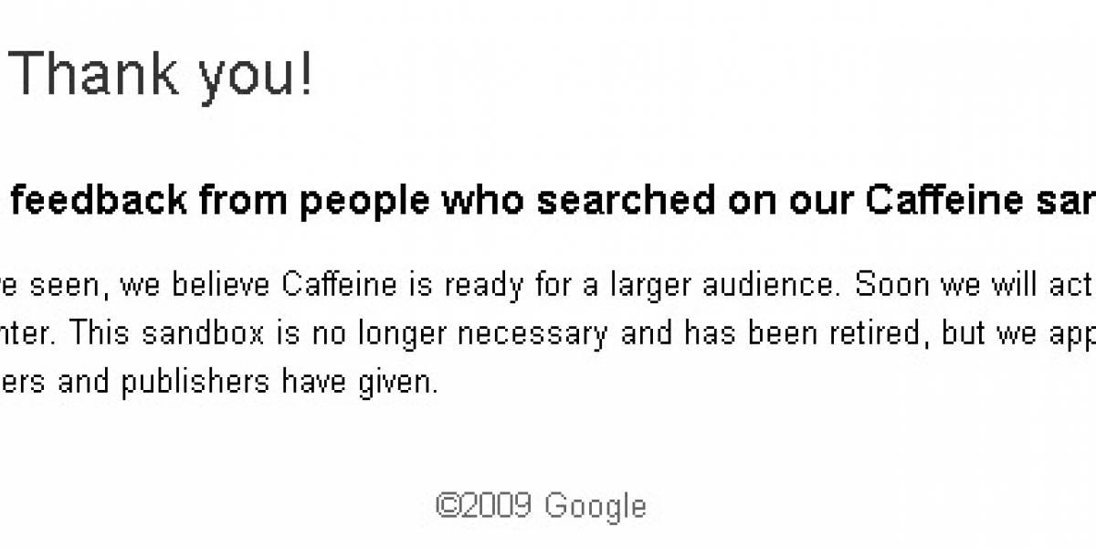 El nuevo motor de búsquedas de Google sería activado muy pronto