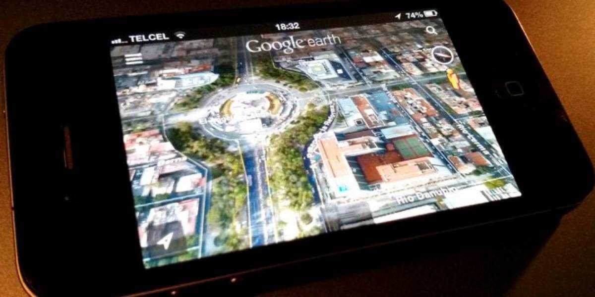 Google Earth integra Street View en su nueva actualización para iOS