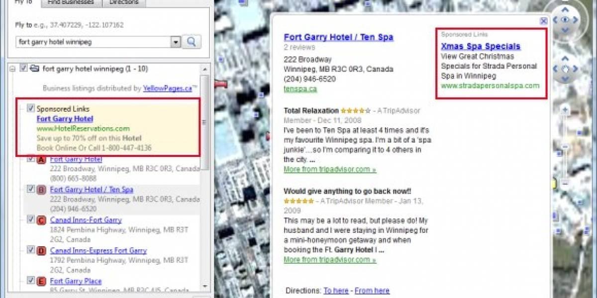 Google muestra avisos Adsense en aplicaciones de escritorio
