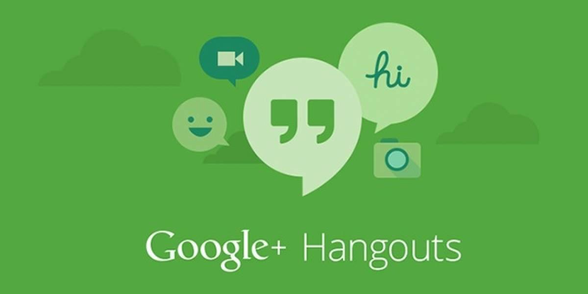 Google integra mensajería de texto y video HD en Hangouts