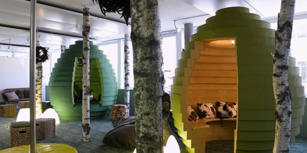 Las oficinas de Google siguen siendo fabulosas