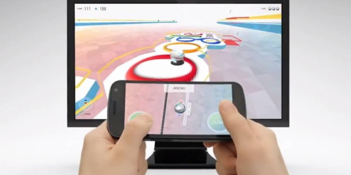 Experimento de Chrome convierte páginas web en un juego con el celular como joystick