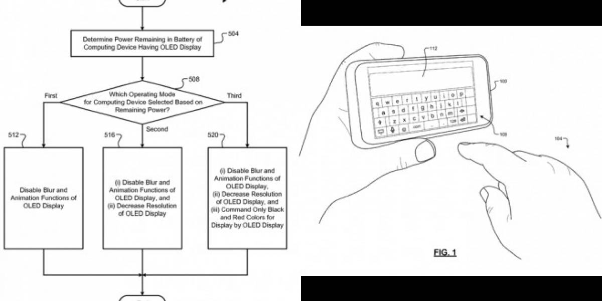 Google patenta método por software para alargar duración de la batería de un celular