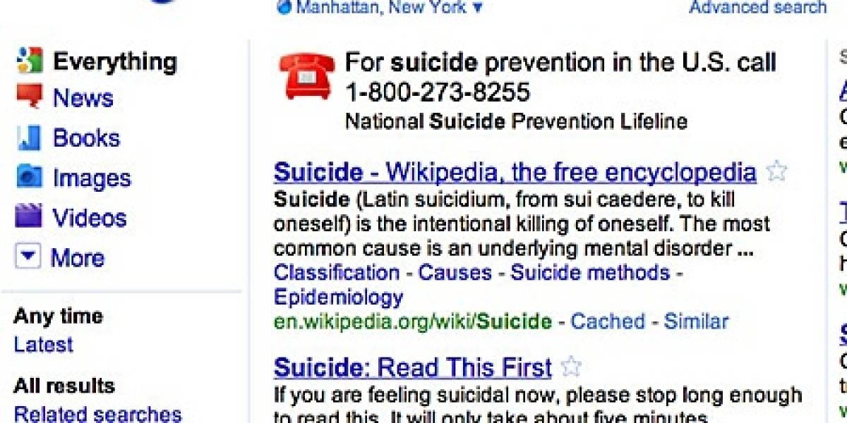 Google quiere que lo pienses bien antes de matarte