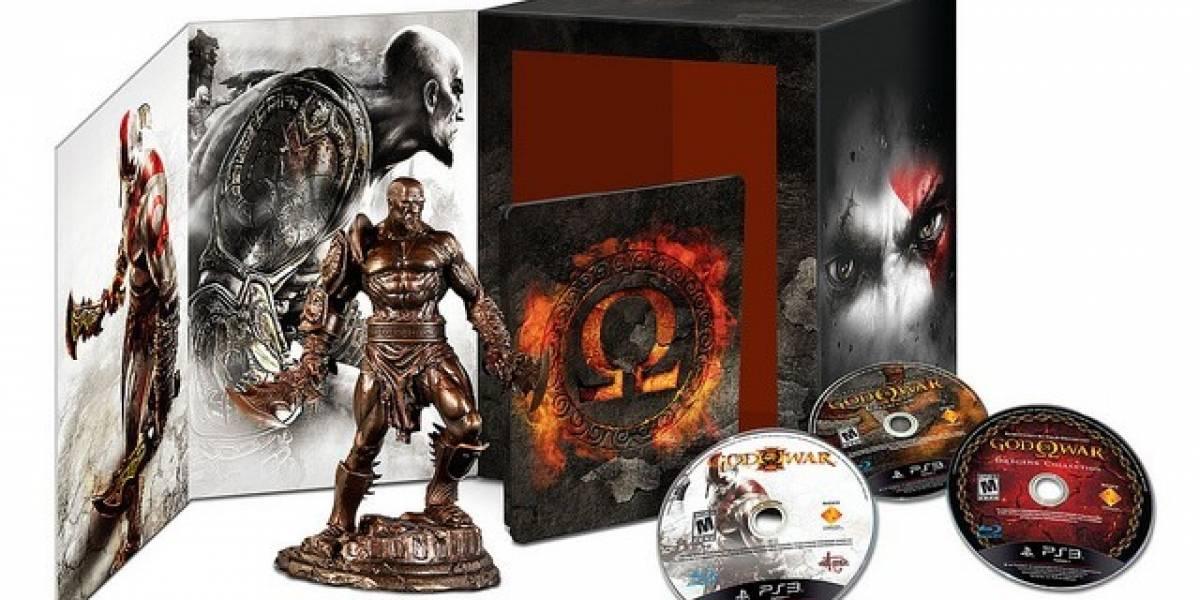 God of War: Omega Collection ya tiene fecha de salida oficial