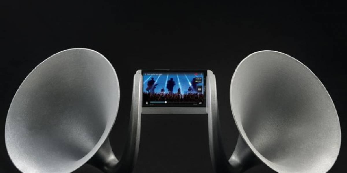 HTC Gramohorn II, un dock carísimo para tu One