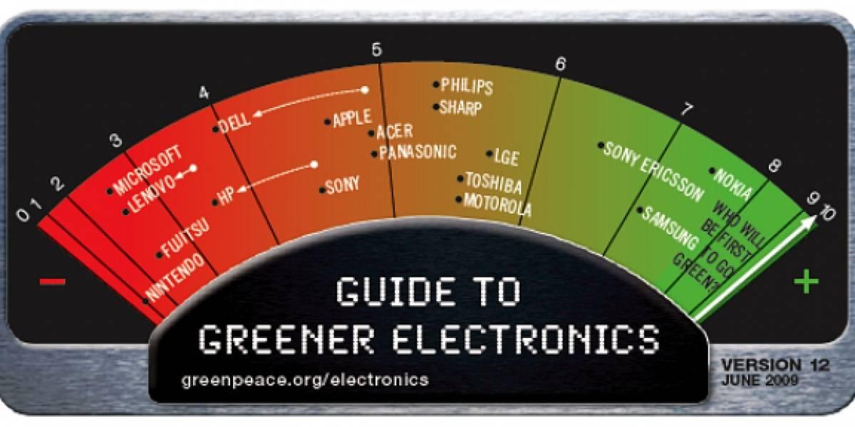 Greenpeace: Nokia es la más verde y Nintendo la más sucia