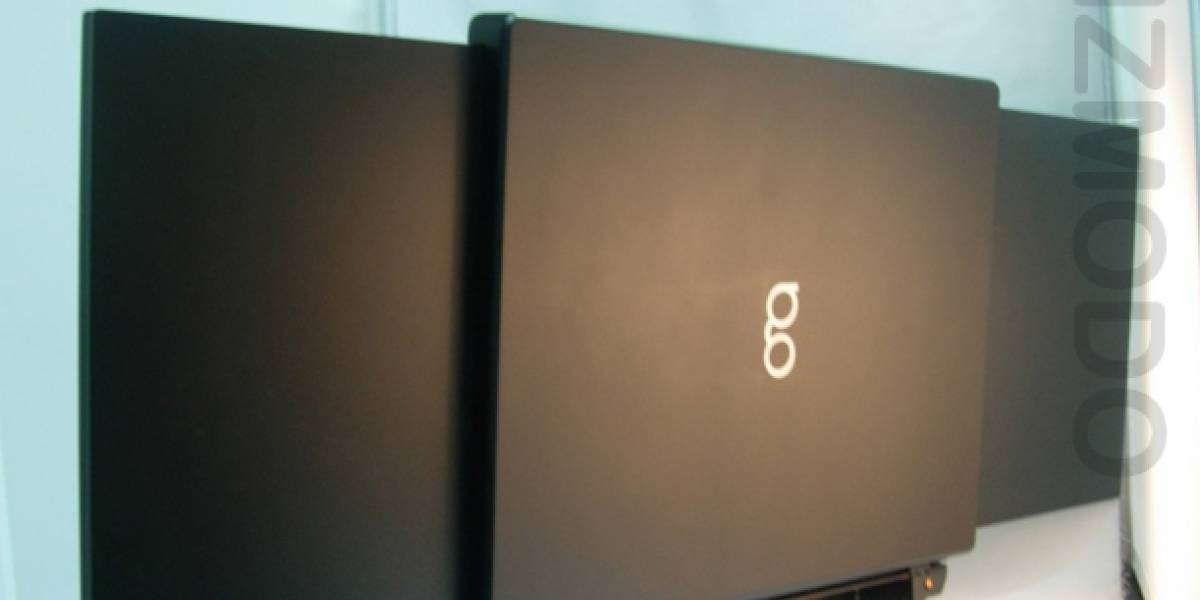 GScreen Spacebook: una portátil con pantalla doble