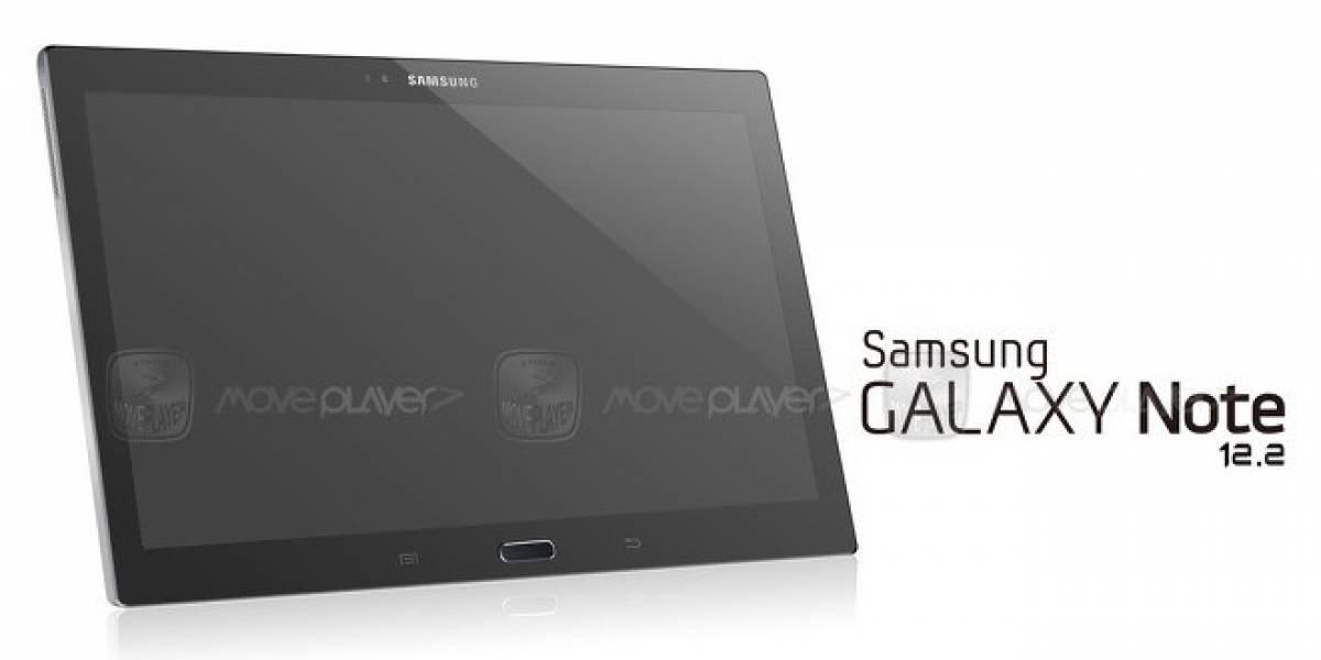 Samsung lanzaría una tablet Galaxy Note de 12.2 pulgadas