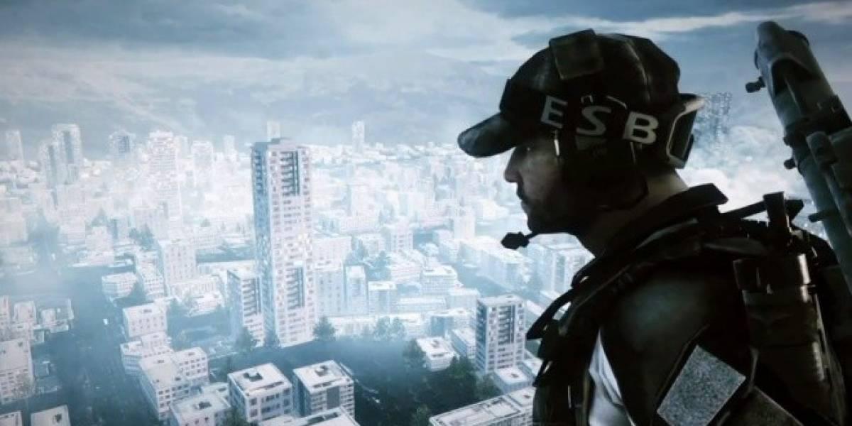 El tráiler de GTA V, recreado con alta fidelidad en Battlefield 3