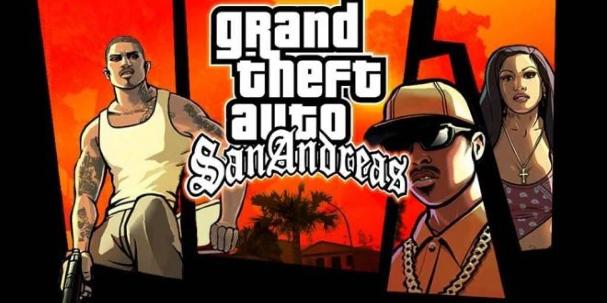 GTA San Andreas aterrizará en PlayStation 3 muy pronto