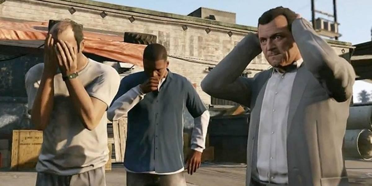 Y con ustedes, el segundo tráiler de Grand Theft Auto V