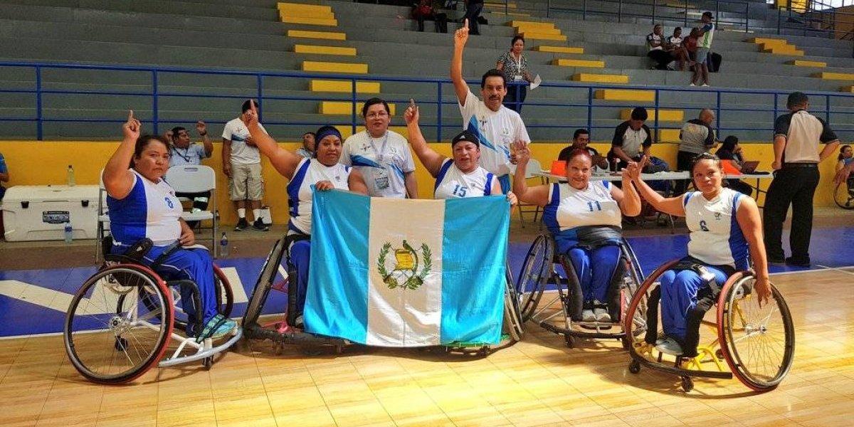 Guatemaltecas se proclaman campeonas en los Juegos Paracentroamericanos