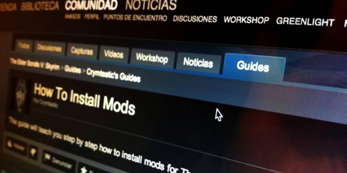 Steam ahora permite crear Guías de Juego