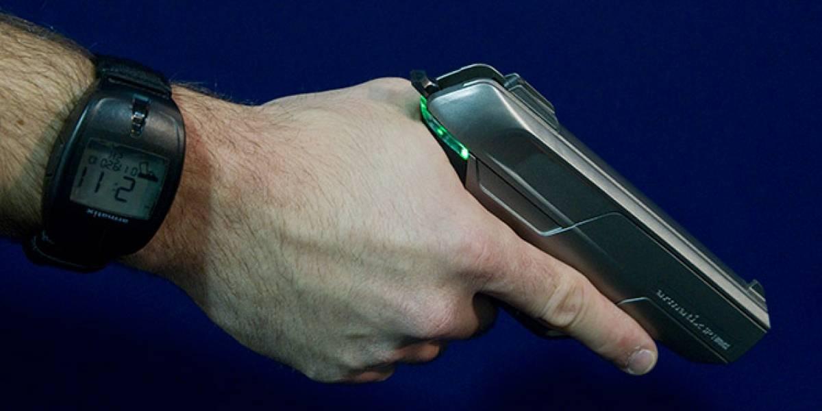 Arma inteligente que solo se dispara cuando portas el reloj adecuado