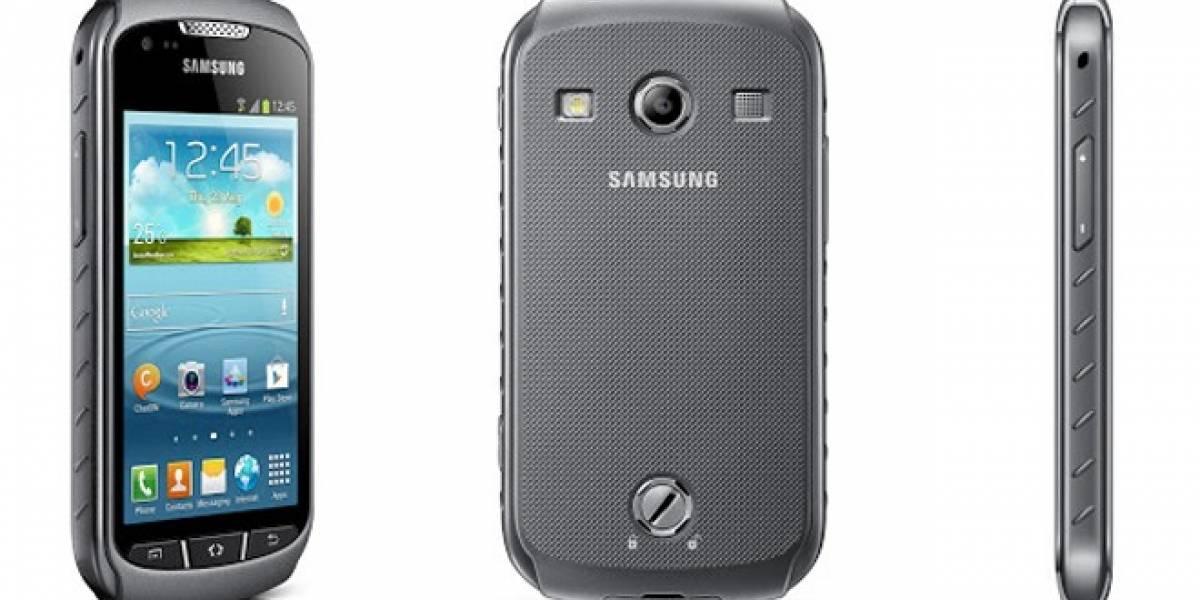 Samsung lanza su nuevo Galaxy Xcover 2, un teléfono para aventureros
