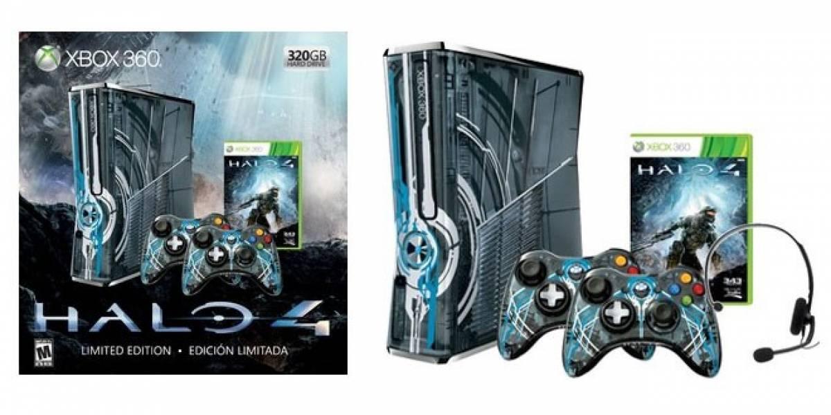 Se filtra la Xbox 360 edición limitada de Halo 4