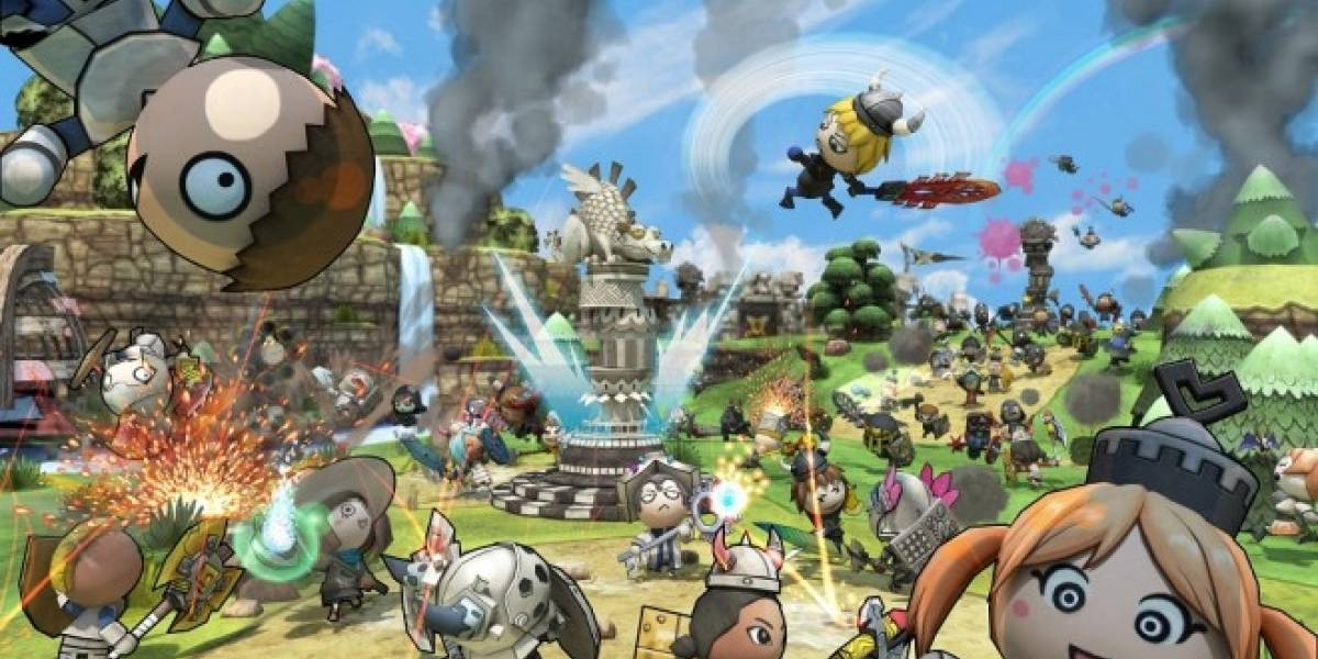 Happy Wars será el primer juego free-to-play de Xbox LIVE Arcade