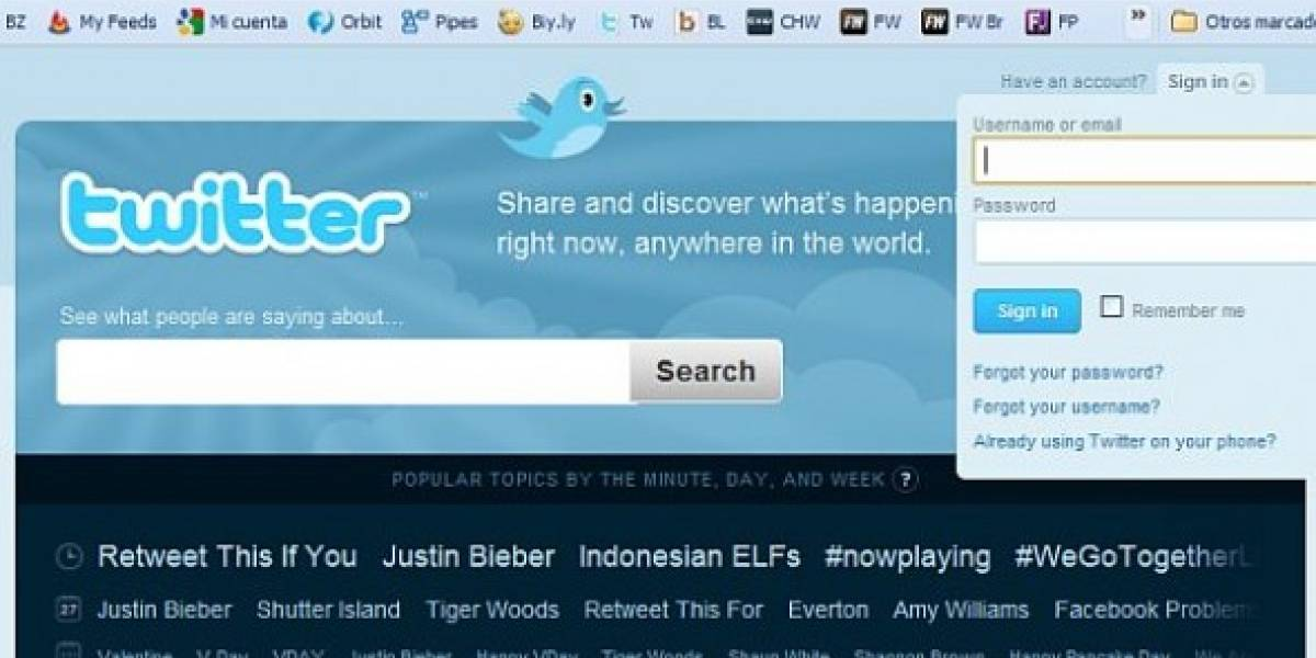 Phishing letal ronda en Twitter