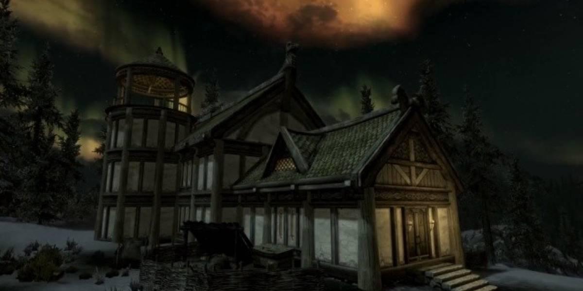 Hearthfire es el nuevo contenido descargable para Skyrim