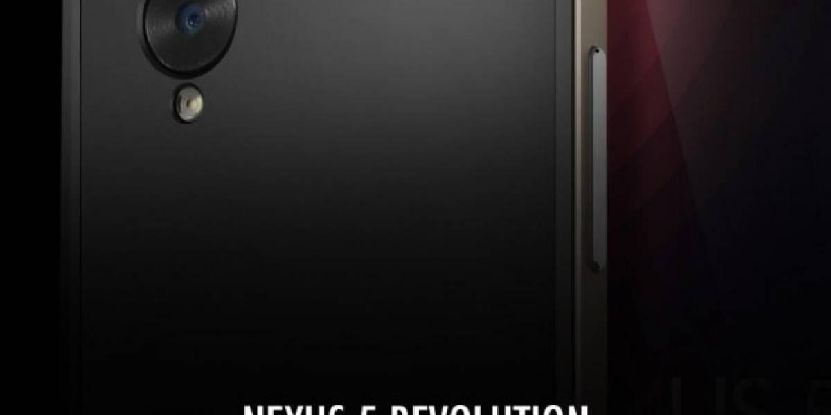Aparece nueva imagen en alta definición del Nexus 5