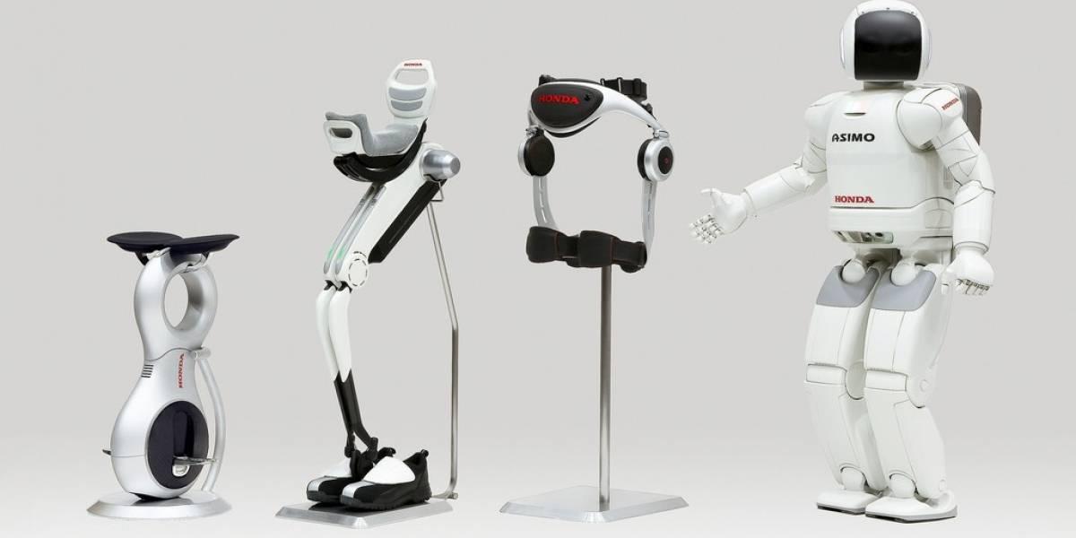 Vehículo Honda U3-X: Monociclo omnidireccional con tecnología de equilibrio