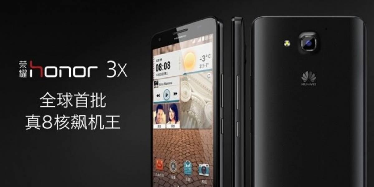 Huawei presenta el Glory 3X, su primer equipo octa-core