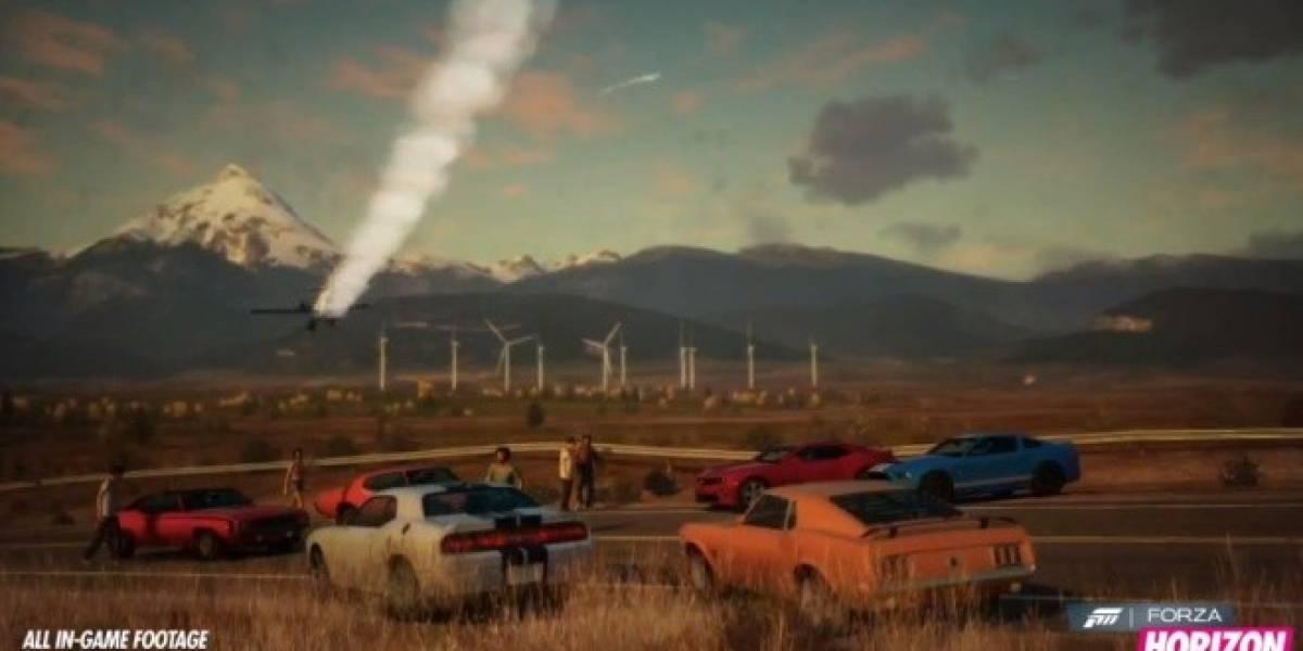Forza Horizon muestra su tráiler de lanzamiento y anuncia demo