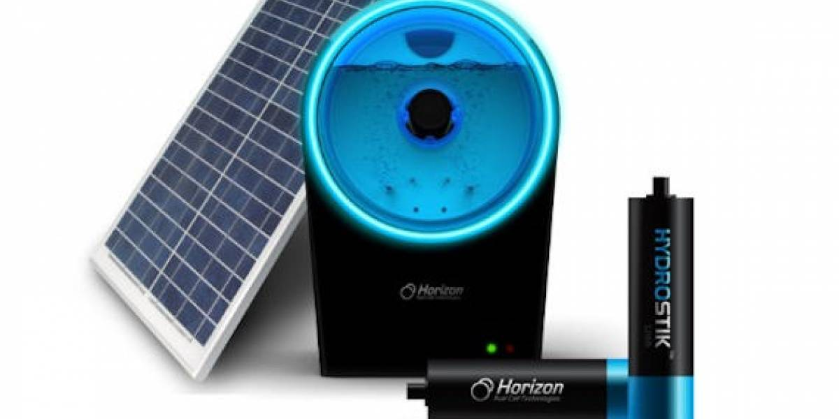 Horizon Hydrofill para mover tus gadgets con hidrógeno