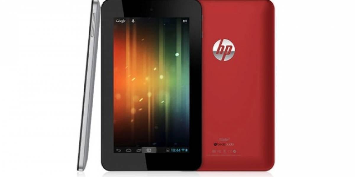 MWC13: 169 dólares por una tablet Android HP de 7 pulgadas