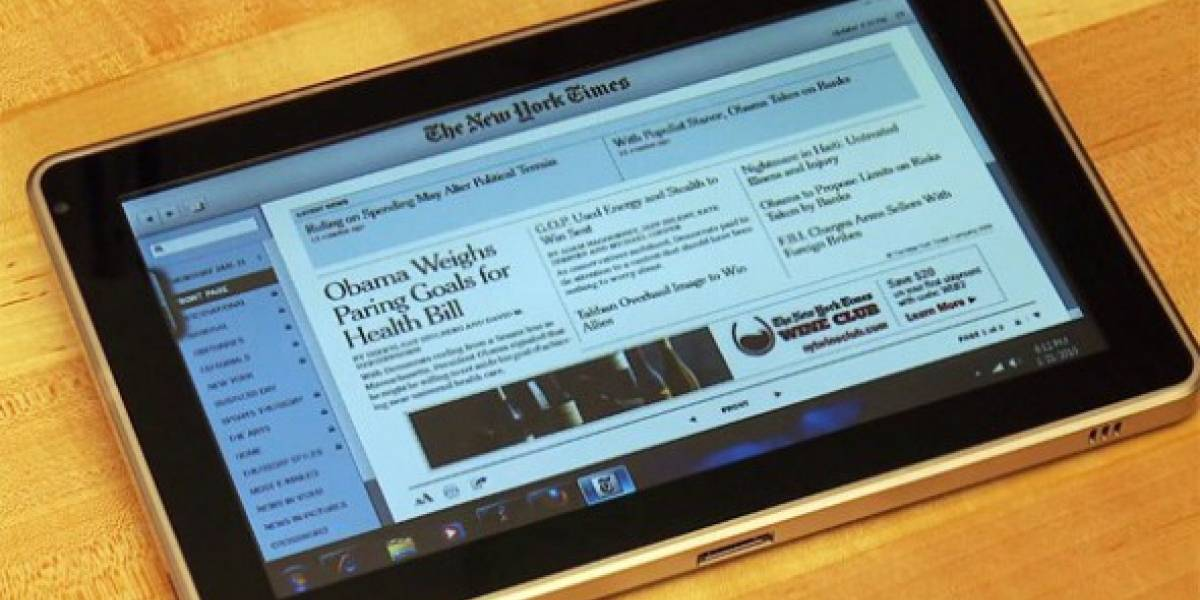HP Slate: precio, fechas y hardware