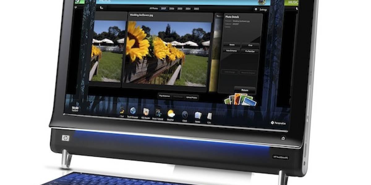 """HP TouchSmart 600 Quad Series: PC """"todo-en-uno"""" multitáctil ahora con Intel Core i7"""