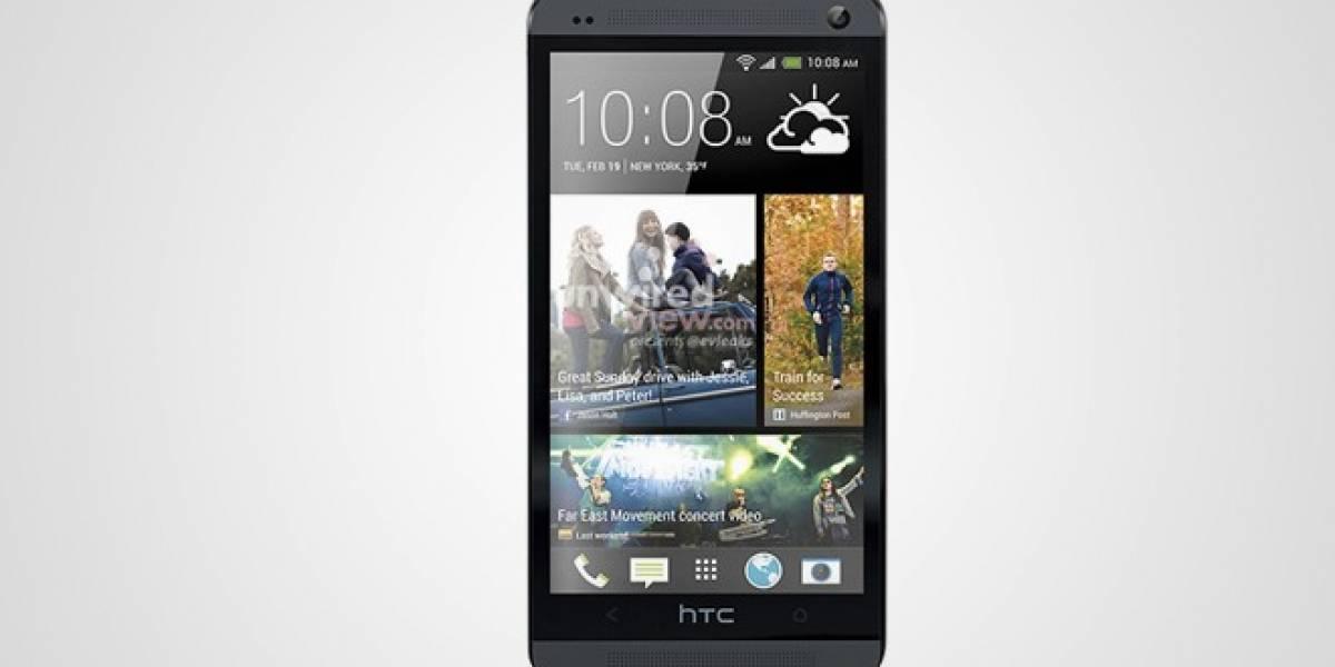 Nueva imagen filtrada del HTC One lo confirma: Es un hijo entre BlackBerry Z10 y iPhone 5