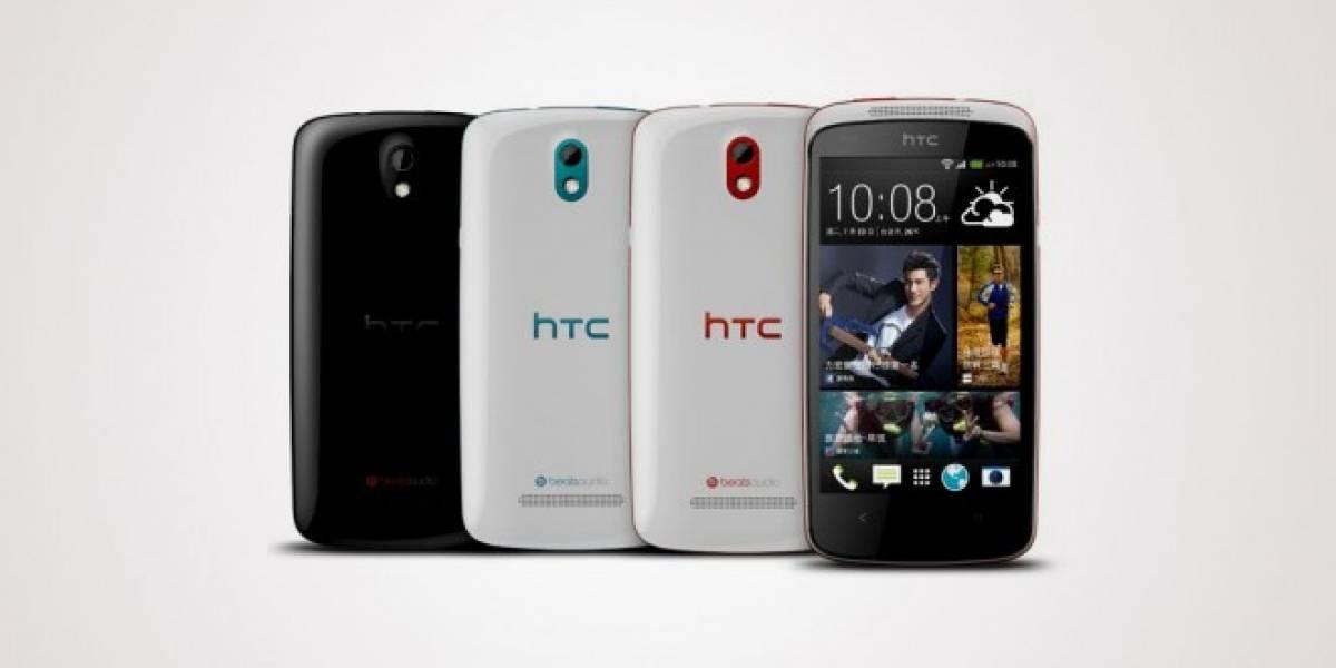 HTC ataca la gama baja lanzando su Desire 500 con Snapdragon 200