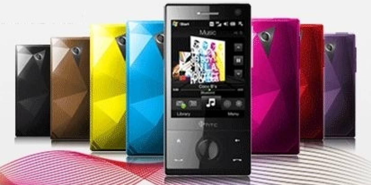 Los 7 nuevos colores del HTC Touch Diamond