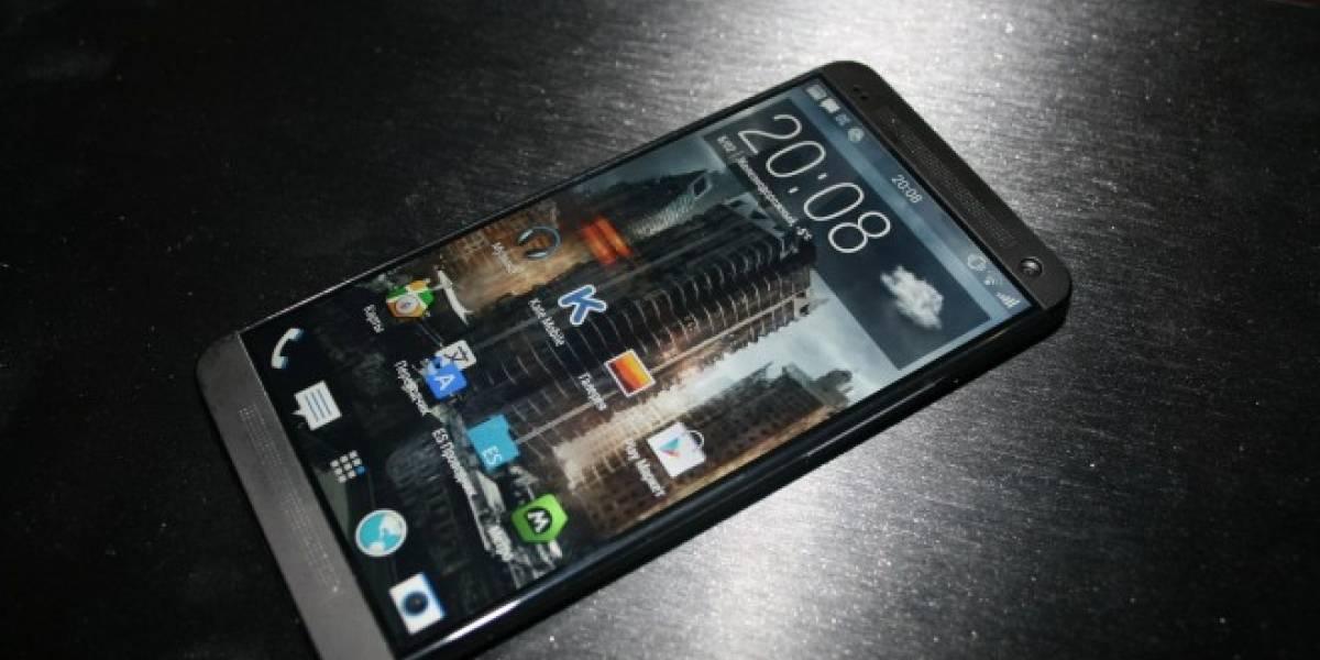 Aparecen imágenes frontales del HTC M8