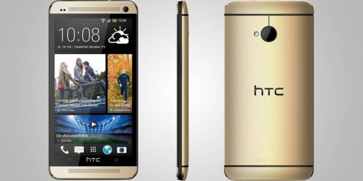 HTC color dorado aparece en el #CES2014