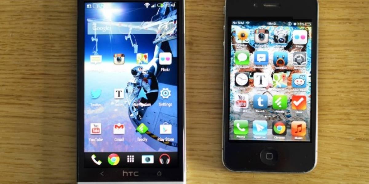 Android acapara el 90% del mercado móvil en España