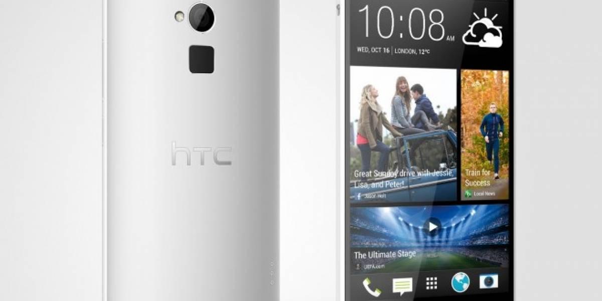 HTC One Max alcanza las seis pulgadas y lector de huellas