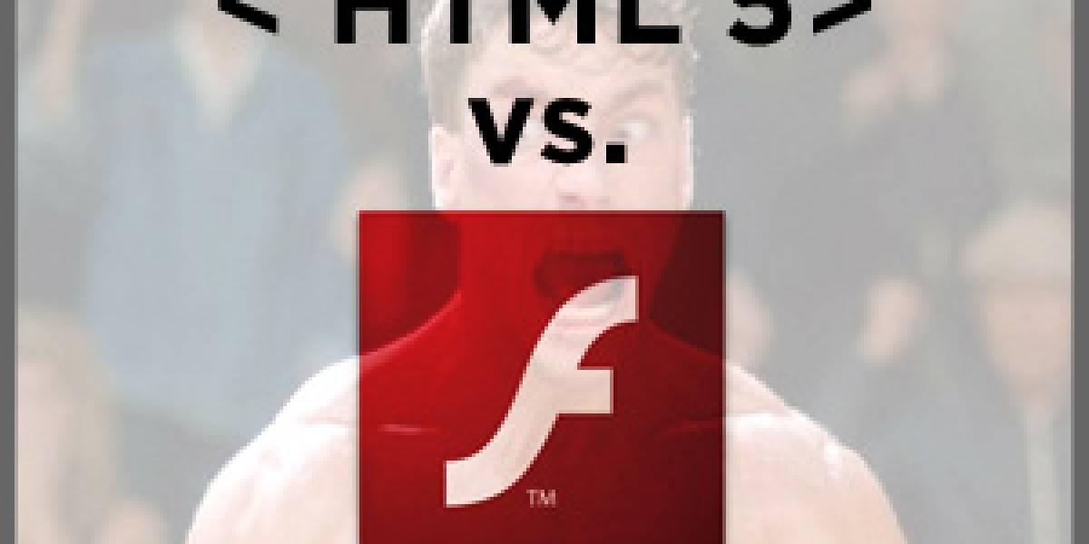 Flash versus HTML5: puestos a prueba