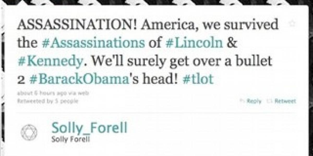 Amenazas a Obama en Twitter alertan al Servicio Secreto