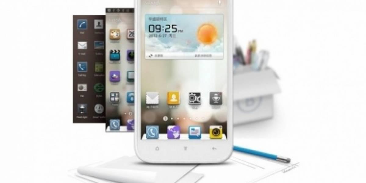 CES 2013: Huawei lanza el Ascend Mate, un equipo de 6.1 pulgadas