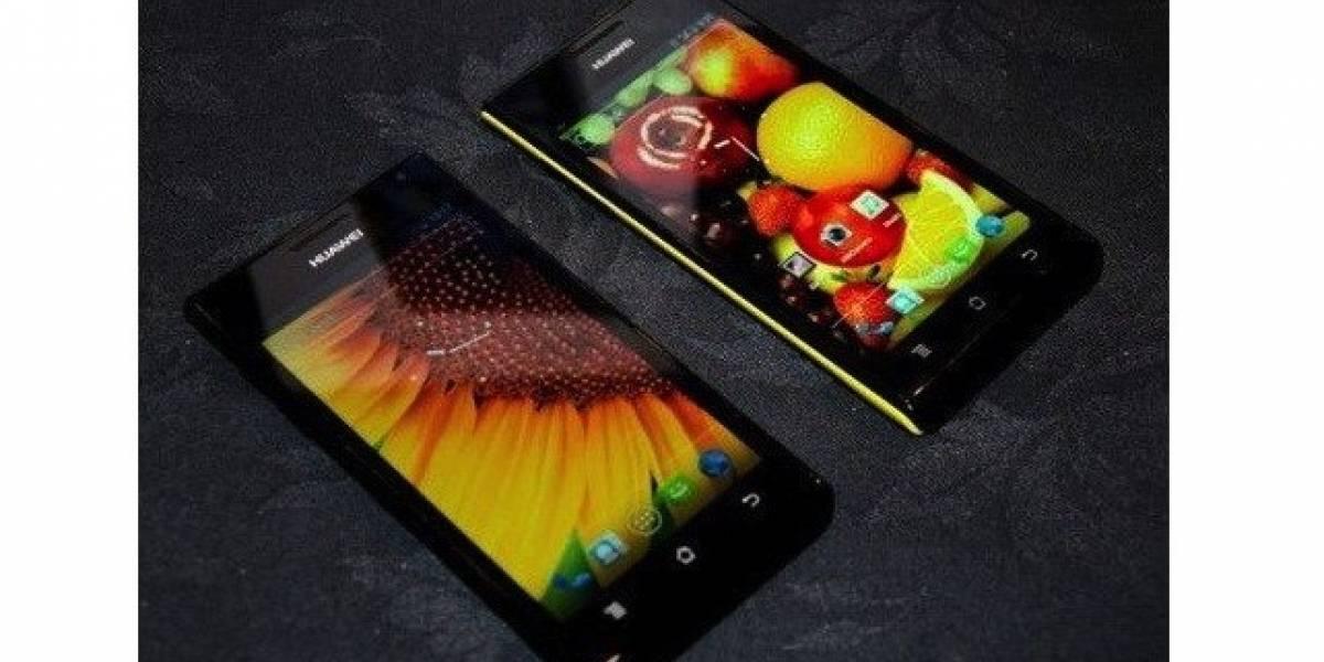El Huawei P2 y el W2 posan ante las cámaras antes de tiempo