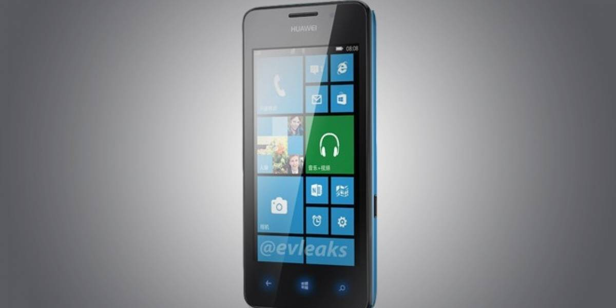 Aparece primera imagen del Huawei Ascend W2 con Windows Phone