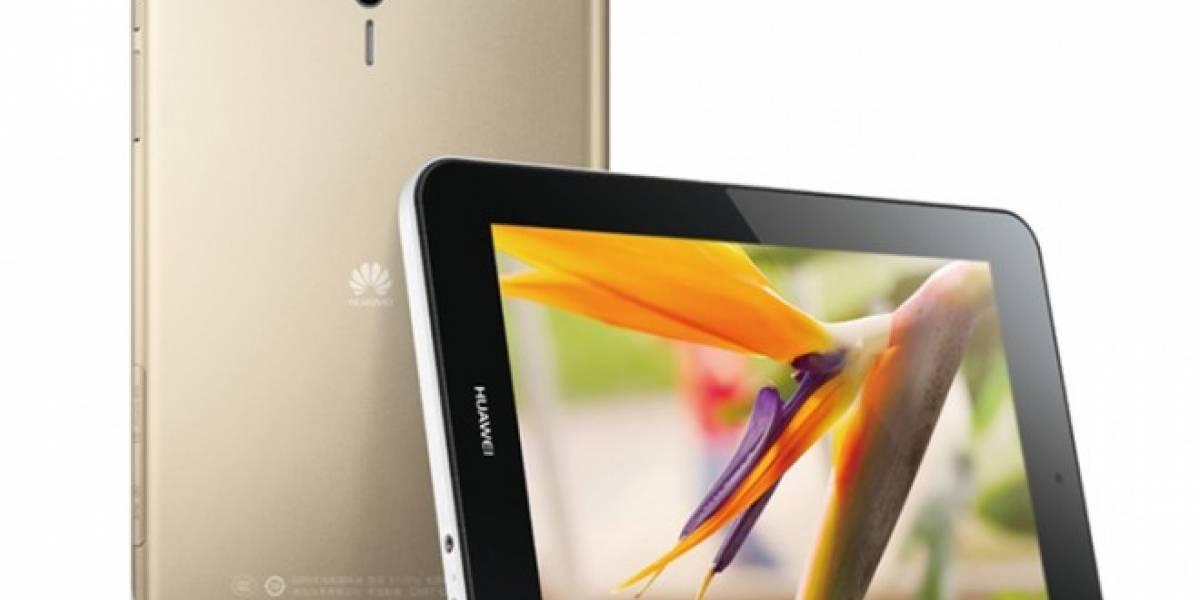 Huawei presenta su tablet MediaPad 7 Youth2