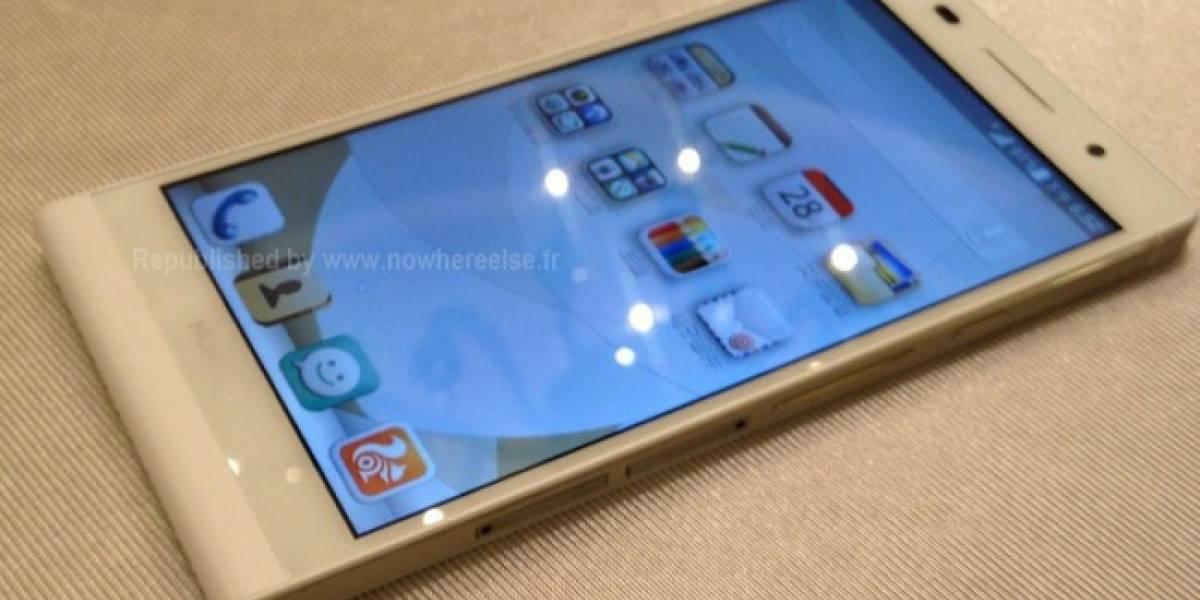Múltiples fotos del Huawei P6 salen a la luz