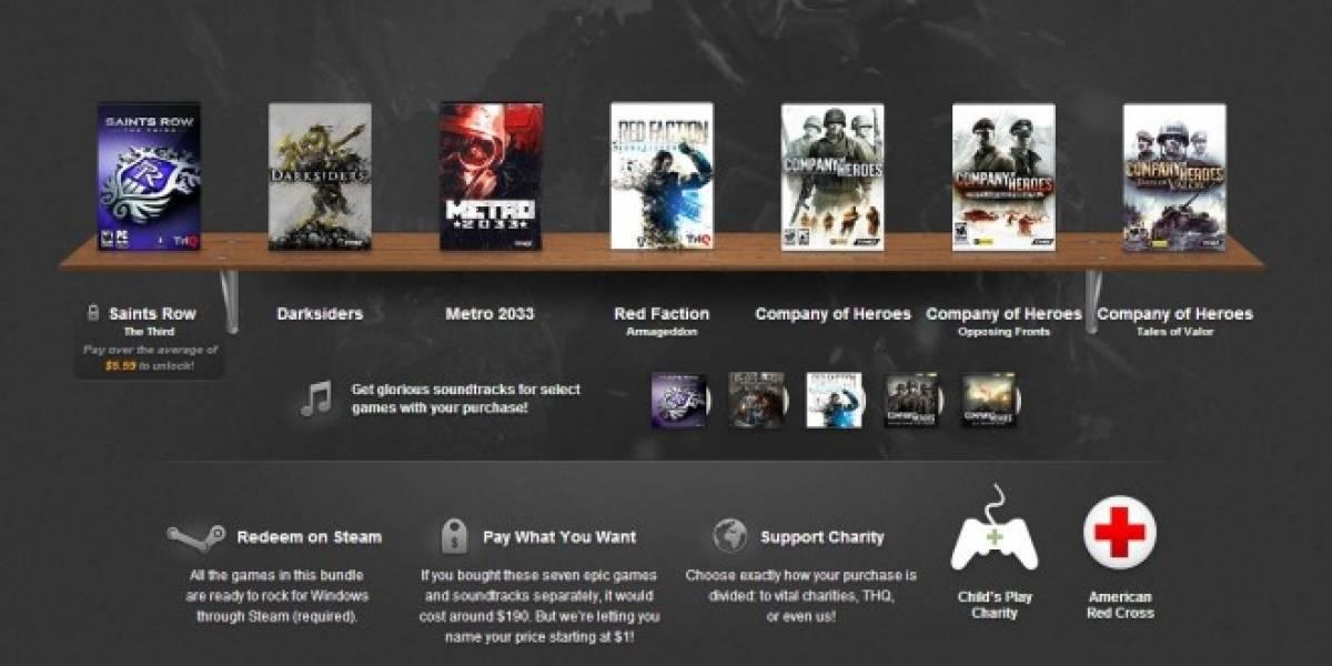 Humble THQ Bundle: 7 juegos de THQ por el precio que quieras