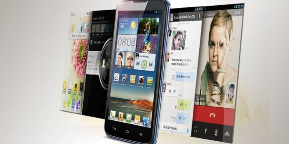 Huawei presenta un nuevo móvil de cinco pulgadas y CPU de cuatro núcleos