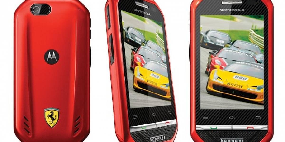 Argentina: Nextel y Motorola lanzaron el i867 Ferrari Edición Limitada