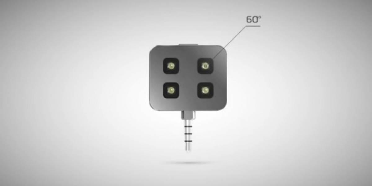 Un flash externo para tu móvil, ahora en Kickstarter